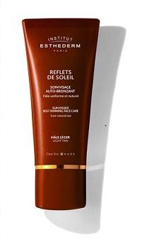 SUN SHEEN Light tan self-tanning cream
